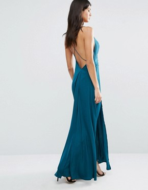 photo Imperial Maxi Dress by The Jetset Diaries, color Deep Emerald - Image 2