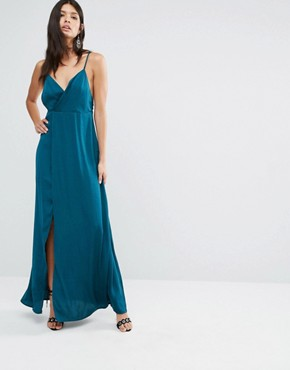 photo Imperial Maxi Dress by The Jetset Diaries, color Deep Emerald - Image 1
