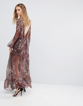 photo Labyrinth Paisley Maxi Dress by The Jetset Diaries, color Labyrinth Paisley - Image 2
