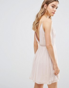photo Basilica Slip Dress by The Jetset Diaries, color Bare Blush - Image 2
