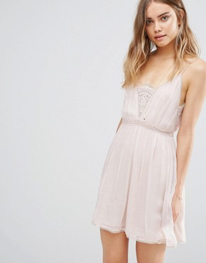 photo Basilica Slip Dress by The Jetset Diaries, color Bare Blush - Image 1