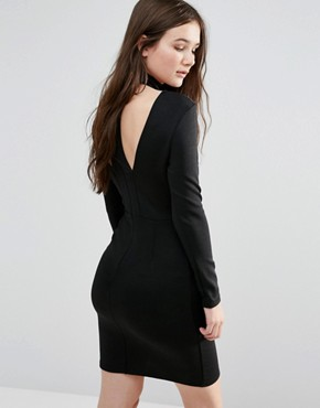 photo Bar Front Dress by Twin Sister, color Black - Image 2