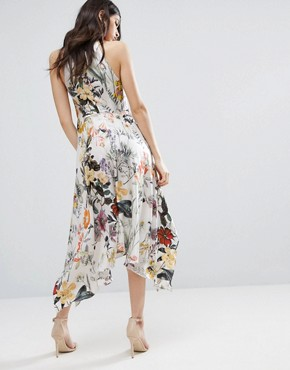 photo Into You Floral Flare Midi Dress by Talulah, color  - Image 2