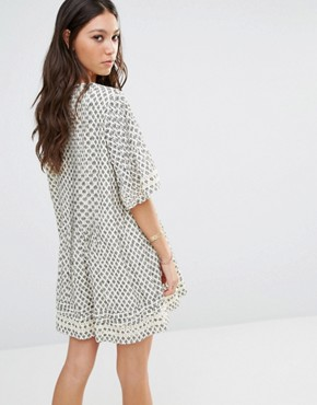 photo Ash Dress by Tularosa, color Cream - Image 2