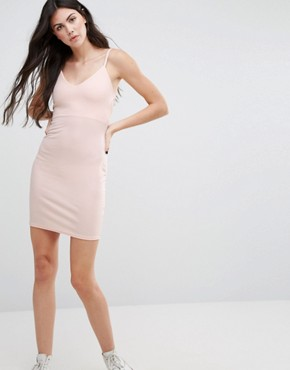 photo Strappy Cami Dress by Daisy Street, color Nude - Image 1
