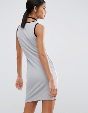 photo Mini Dress by Daisy Street, color Grey - Image 2