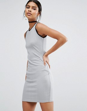 photo Mini Dress by Daisy Street, color Grey - Image 1