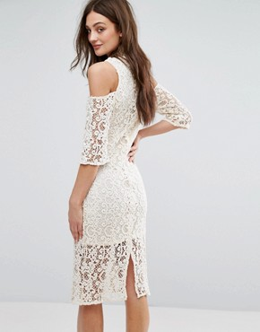 photo Lace Dress by Stevie May, color White - Image 2