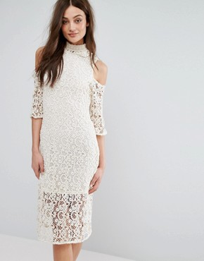 photo Lace Dress by Stevie May, color White - Image 1
