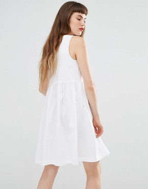 photo Bow Dress by Love Moschino, color White - Image 2