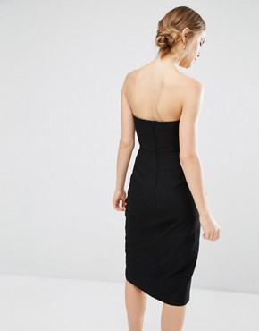 photo Need Dress with Pleats by C/meo Collective, color Black - Image 2