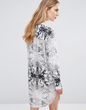 photo Henico Shirt Dress by b.Young, color Off White - Image 2