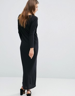 photo Heal The Blind Maxi Dress by AMENPAPA, color Black - Image 2