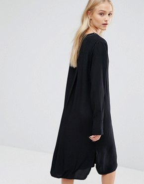 photo Tunic Dress by Just Female, color Black - Image 2