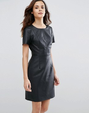 photo Betsy Perforated Dress by Sugarhill Boutique, color Black - Image 1