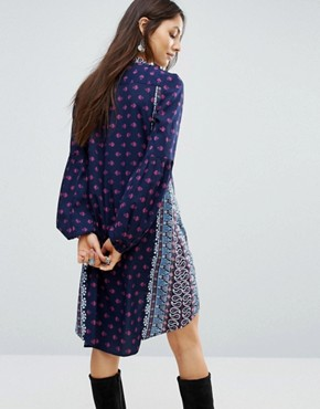 photo The Megan Tunic Dress by Raga, color Navy - Image 2