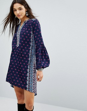 photo The Megan Tunic Dress by Raga, color Navy - Image 1