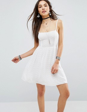 photo Blanca Cami Dress by Pepe Jeans, color White - Image 1