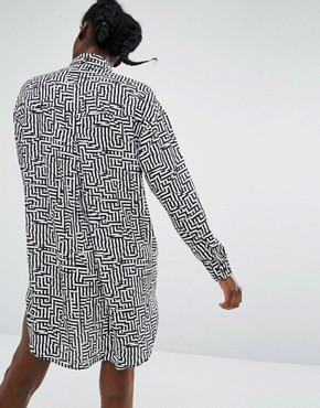 photo Graphic Shirt by Monki, color Black - Image 2
