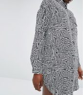 photo Graphic Shirt by Monki, color Black - Image 3