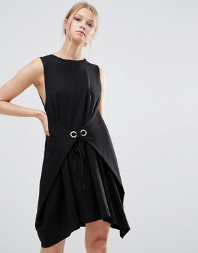 photo Sleeveless Dress by Style Mafia, color Black - Image 1