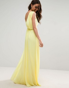 photo Maxi Dress by ASOS WEDDING, color Yellow - Image 2