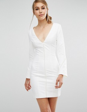 photo No Stone Unturned Dress by Asilio, color White - Image 1