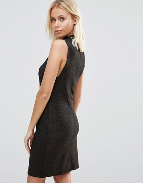 photo Sleeveless Bodycon Dress with Cut Out Sides by Vila, color Rose Gold - Image 2