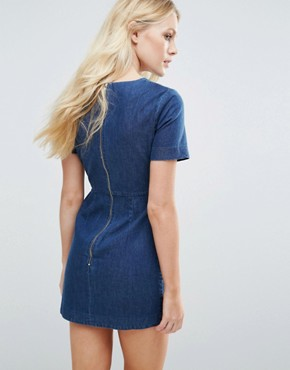 photo Liah Dress by Little White Lies, color Blue - Image 2