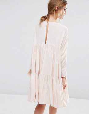 photo Isla Smock Dress by Little White Lies, color Pink - Image 2