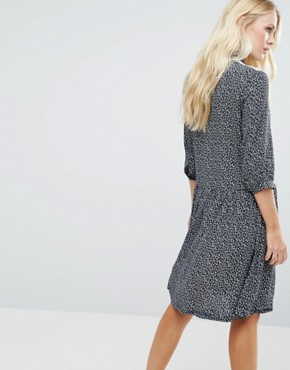 photo Mirelle Shirt Dress In Starprint by Little White Lies, color Star print - Image 2