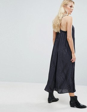 photo Drix Maxi Dress by Little White Lies, color Grey - Image 2