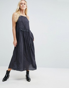 photo Drix Maxi Dress by Little White Lies, color Grey - Image 1