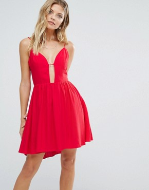 photo Gallup Dress in Red by Majorelle, color Red - Image 1