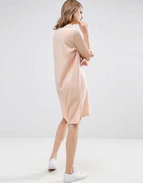 photo Crepe Dress by b.Young, color Pearl Blush - Image 2