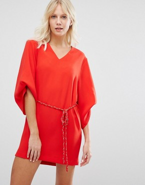 photo Red Dress by Suncoo, color Rouge - Image 1