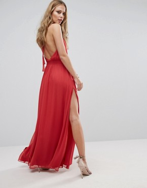 photo Shale Maxi Dress by The Jetset Diaries, color Papaya - Image 2