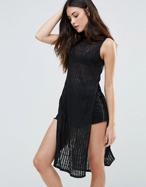 photo Sleeveless Dress by First & I, color Black - Image 1