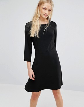 photo Dress with Lace Back by New Lily, color Black - Image 2