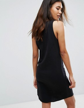 photo Tank Dress With Script Logo by Champion, color Black - Image 2