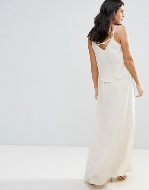 photo Overlay Maxi Dress by Vila, color Pink Tint - Image 2