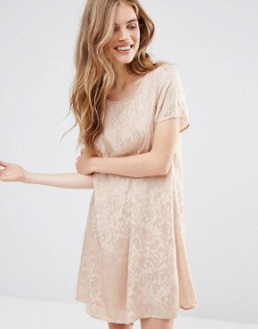 photo Burnt Out Shift Dress by Vila, color Rugby Tan - Image 1