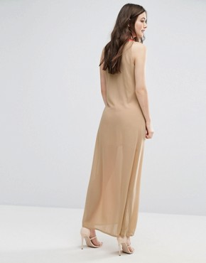 photo Dolce Vita Maxi Dress by Jovonna, color Cream - Image 2