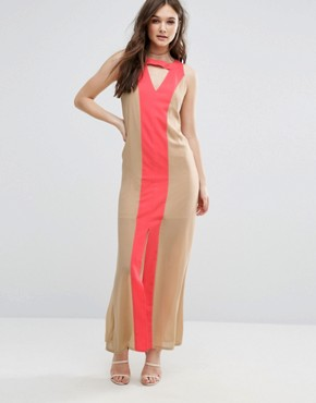 photo Dolce Vita Maxi Dress by Jovonna, color Cream - Image 1