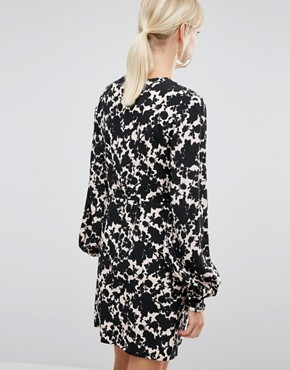 photo Dress in Floral Print by Sportmax Code, color  - Image 2