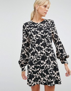 photo Dress in Floral Print by Sportmax Code, color  - Image 1