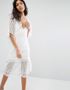 photo Violante Dress by Stevie May, color White - Image 1