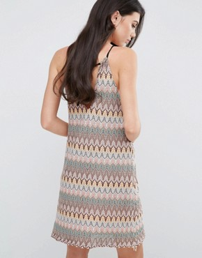 photo Halterneck Shift Dress by Love & Other Things, color  - Image 2