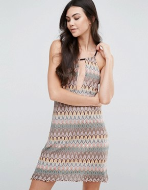 photo Halterneck Shift Dress by Love & Other Things, color  - Image 1