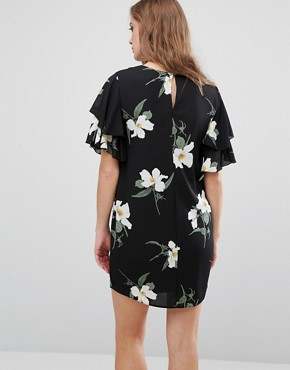 photo Floral Printed Shift Dress by Queen Bee, color  - Image 2